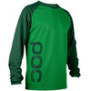 POC M's Flow Jersey Molybdenite Green/Phosph Green